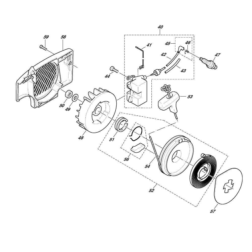 Zündelektronik, Anwerfvorrichtung