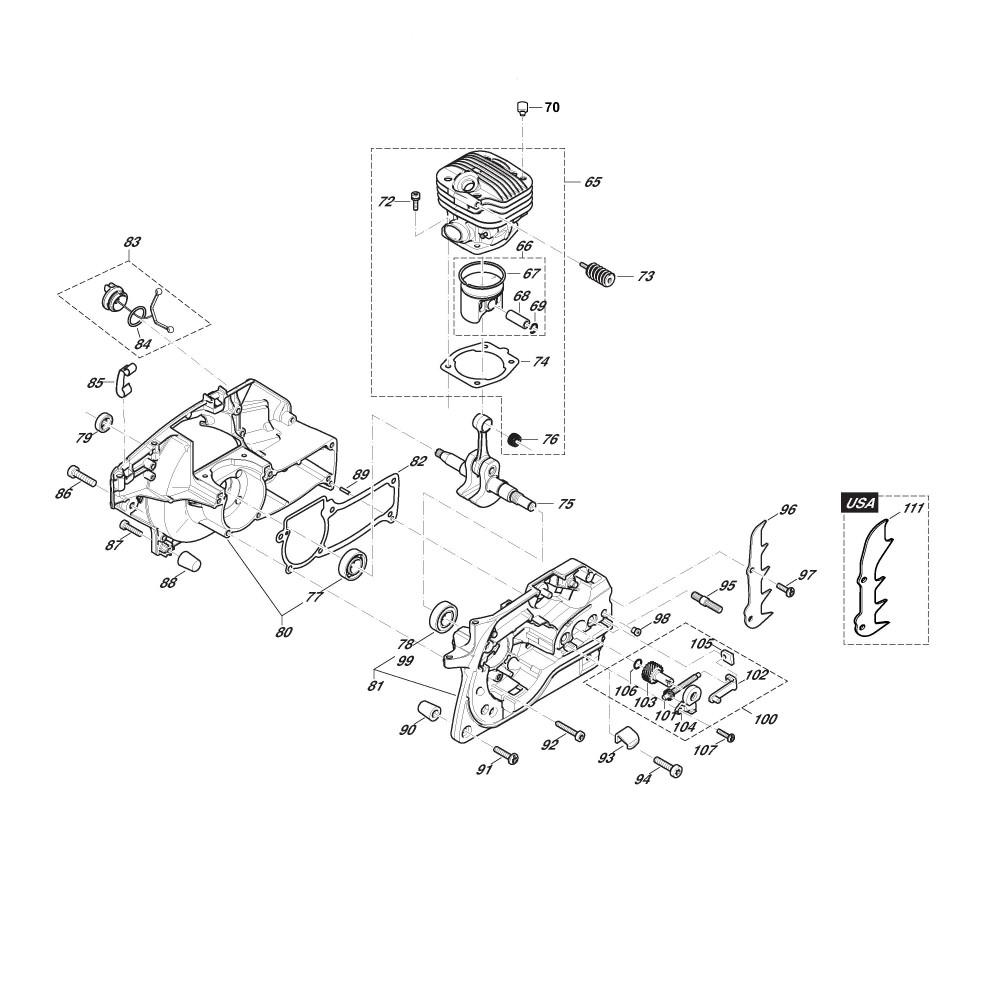 Dichtung Zylinder zylinderfussdichtung PS 350 PS 420